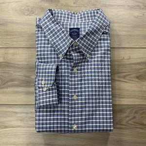 Brooks Brothers Check Long Sleeve Button Down
